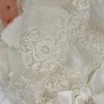 Конверт-одеяло на выписку для новорожденного Атлас цвет: белый
