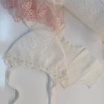 Конверт-одеяло на выписку Розочки, цвет: розовый