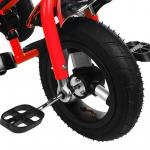 Велосипед трёхколёсный Micio Classic Air, надувные колёса 10/8, цвет красный