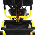 Велосипед трёхколёсный Micio Classic Air, надувные колёса 10/8, цвет жёлтый