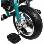 Велосипед трёхколёсный Micio Classic, колёса EVA 10/8, цвет: бирюзовый