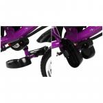 Велосипед трёхколёсный Micio Classic, колёса EVA 10/8, цвет: фиолетовый