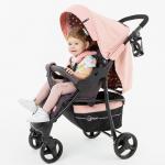 Коляска прогулочная Rant Kira Star RA055 цвет: Cloud Pink