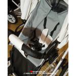 Коляска 2 в 1+переноска Ray Corsa Ecco Classic, 15 цвет: белая кожа