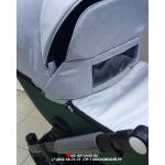 Коляска 2 в 1 Riko Basic Ozon Shine 05 цвет: изумруд/серый