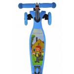 Самокат трехколесный Союзмультфильм со светодиодами PR-S5-01 цвет: в ассортименте