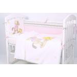 Комплект в кроватку Топотушки Лошадка 6 предметов 603/1 цвет: розовый