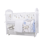 Комплект в кроватку Топотушки Звездная ночь  6 предметов 611/1 цвет: голубой