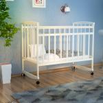 Кроватка-качалка детская ВДК Magico-mini Кр1-02 цвет: белый