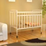 Кроватка-качалка детская ВДК Magico-mini Кр1-02 цвет: слоновая кость