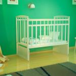 Кроватка-маятник ВДК Magico-mini Кр1-03 м цвет: белый