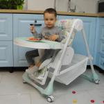 Стульчик для кормления Baby Tilly Bistro T-641/2 цвет: Grey