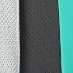Коляска 2 в 1 Adamex Cortina, CT-242 цвет: кожа графит/мятный/меланж