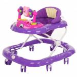 Ходунки детские Alis Мишутка SR103 цвет: фиолетовый