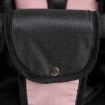 Коляска 2 в 1 Alis Orion Or 04 цвет: тёмно-серый/розовый