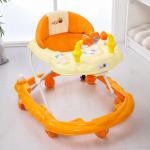 Детские ходунки Alis Весёлые друзья, цвет: оранжевый