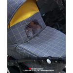 Коляска 2 в 1 BartPlast Nova 05 цвет: серый/желтый