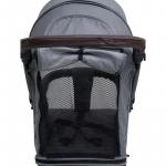 Коляска прогулочная Bubago Model Cross цвет: Black
