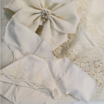 Конверт-одеяло на выписку Лен цвет: молочный/шитьё