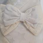 Конверт-одеяло на выписку Звезда цвет: светлый беж