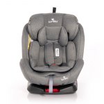 Автокресло Lorelli Lyra Isofix Группа 0/1/2/3 (0-36 кг)  цвет: Серый/ Grey 2014
