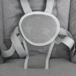Электронные качели Lorelli Portofino цвет: Серый/Cool Grey Stars 2147