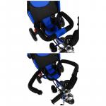 Велосипед трёхколёсный Micio Classic Air, надувные колёса 10/8, цвет: синий