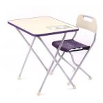 Комплект детской складной мебели Nika Kids Ретро КПР/3 цвет: сиреневый