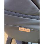 Коляска 2 в 1+переноска Ray Corsa Ecco, 30 цвет: черная кожа