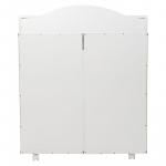 Пеленальный комод 5 ящиков Топотушки Фортуна Плюс ЛДСП 800/5 (84) цвет: белый