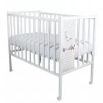 Кроватка-качалка детская ВДК Magico Loft Ocean цвет: белый