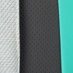 Коляска 3 в 1 Adamex Cortina, CT-242 цвет: кожа графит/мятный/меланж