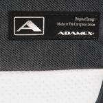Коляска 2 в 1 Adamex Verona VR200 цвет: серый/белая кожа