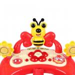 Ходунки для малышей Alis Пчелка цвет: красный