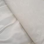 Конверт-одеяло на выписку 2 предмета Атлас цвет: белый/светло-голубое кружево