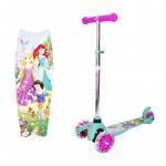 Самокат детский Disney Princess Т11413Н, разноцветный