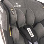 Автокресло Lorelli Pegasus Isofix группа 0/1/2/3 (0-36 кг) цвет: Темно-серый/Dark Grey 2104