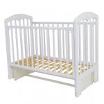Кроватка-маятник Топотушки Сильвия-5 (653) цвет: белый