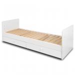 Кровать-трансформер Топотушки Валерия 120х60 (73) цвет: белый