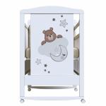 Кроватка-качалка ВДК Birba цвет: белый
