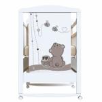 Кроватка-качалка ВДК Honey bear цвет: белый