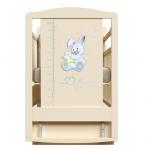 Кроватка-маятник+ящик ВДК Joe цвет: слоновая кость