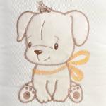 Комплект на выписку Alis Дружок, 5 предметов цвет: молочный