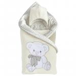 Комплект на выписку Alis Подарок, 5 предметов цвет: молочный