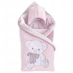 Комплект на выписку Alis Подарок, 5 предметов цвет: розовый