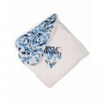 Комплект на выписку BabyGlory Зимняя сказка (зима) K0053 цвет: голубой