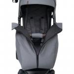 Коляска прогулочная Bubago Model Cross air 2020 цвет: Black/Черный