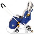 Санки-коляска Disney baby 2 DB2 цвет: синий/Микки Маус