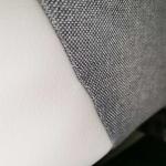 Коляска 2 в 1 Indigo Alpina Al 04 цвет: светло-серый/белая кожа