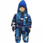 Комбинезон-трансформер Lapland 19-2 Дино цвет: синий